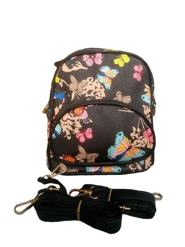Маленький практичний сумка рюкзак жіночий 027G