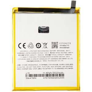 Акумуляторна батарея BA712 для мобільного телефону Meizu M6s