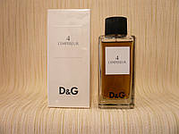 Dolce & Gabbana - D & G Antology № 4 L'Empereteur (2012) - Туалетная вода 100 мл (тестер)