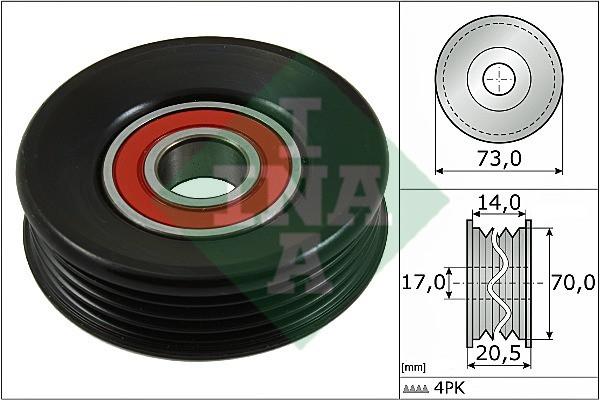 Ролик натяжной SUBARU (производство Ina) (арт. 531 0853 10), rqc1qttr