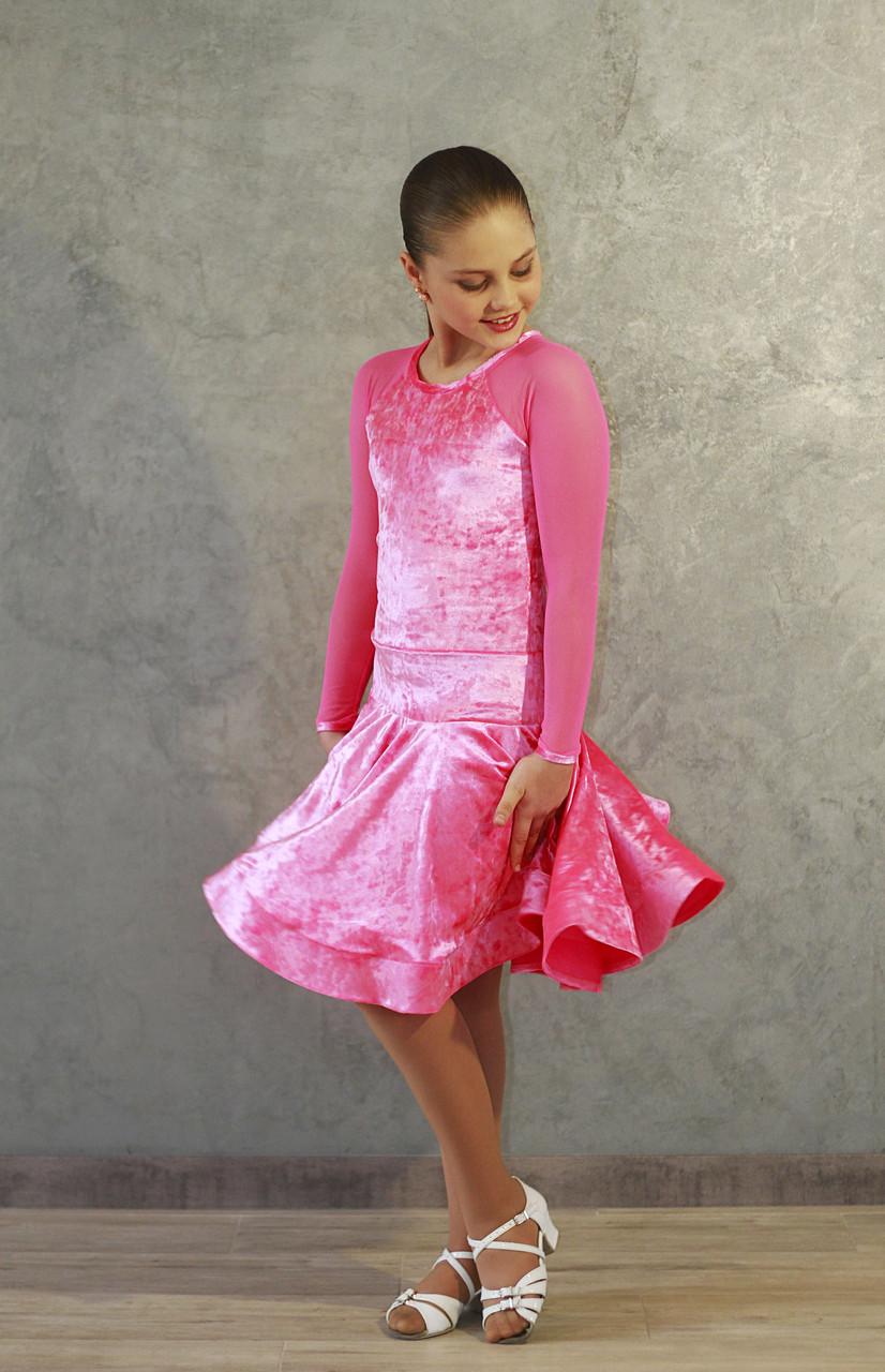 Рейтинговое платье Бейсик для бальных танцев Sevenstore 9151