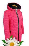 """Весенняя куртка с капюшоном, модель """"Коралл"""""""