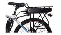 Аккумулятор для электро велосипеда в багажнике с ключем и габаритом 48v 15ah