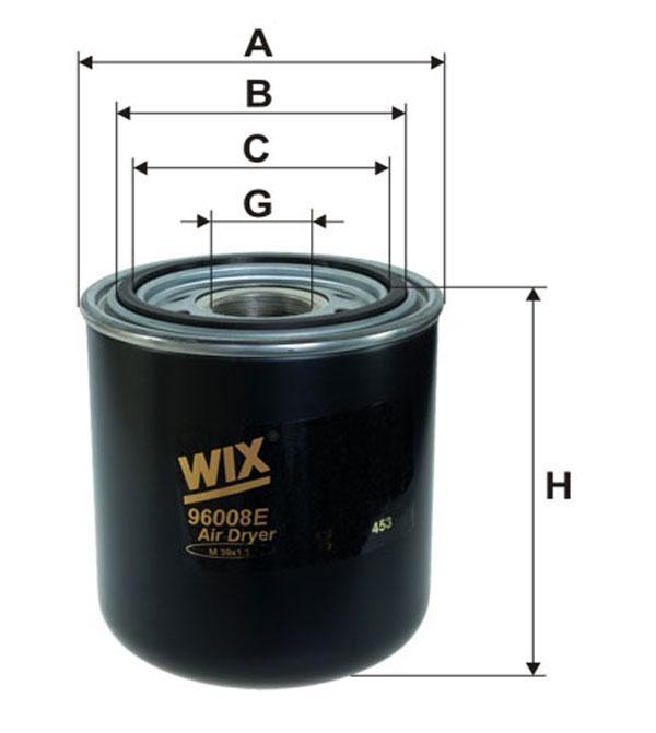 Картридж влагоотделителя (TRUCK) (производство WIX-Filtron) (арт. 96008E), rqb1qttr