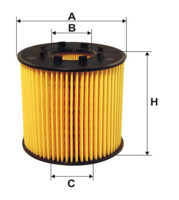 Фильтр масляный RENAULT WL7306/OE666/1 (производство WIX-Filtron) (арт. WL7306), rqz1qttr