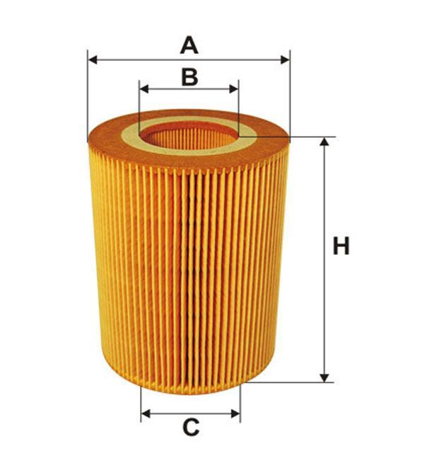 Фильтр масляный 92091E/OE676 (производство WIX-Filtron) (арт. 92091E), rqc1qttr