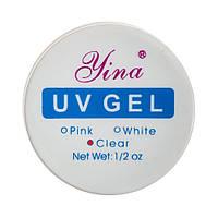 Гель для наращивания ногтей CLEAR LINA 15 гр