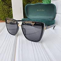 Очки женские солнцезащитные GUCCI replica AAA (GC004)