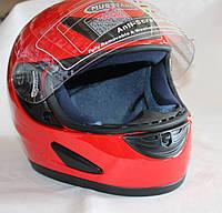 Шлем мотоциклетный (красный) Тайвань