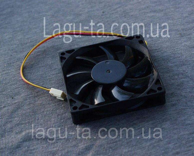 Вентилятор 80мм*80мм*15мм - DC12в. 3pin.