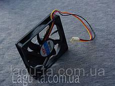 Вентилятор 80мм*80мм*15мм - DC12в. 3pin., фото 2