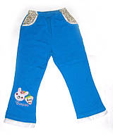 Штаны хлопковые на девочку размер: S