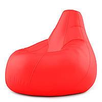 Кресло Мешок Груша Оксфорд 300 150х100 Студия Комфорта размер Большой красный
