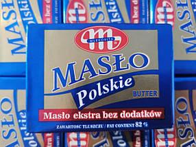 Масло сливочное Mlekovita Maslo Polskie 200г (Польша)