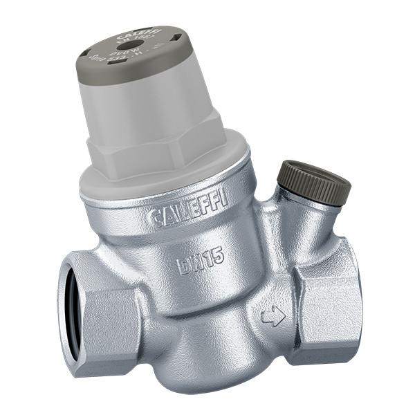 """Редуктор давления воды Caleffi 1/2"""" с отводом под манометр (533441), фото 1"""