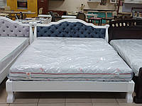 Кровать из натурального дерева, фото 1