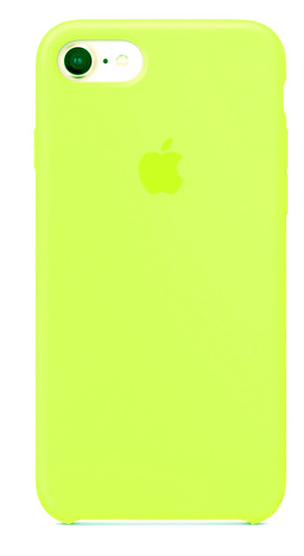 Задняя накладка Hi-Copy Silicone Case APPLE IPHONE 7 | 8 (№37 LEMONADE)