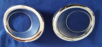 Хромированные накладки на противотуманные фары honda cr-v 2006-2009