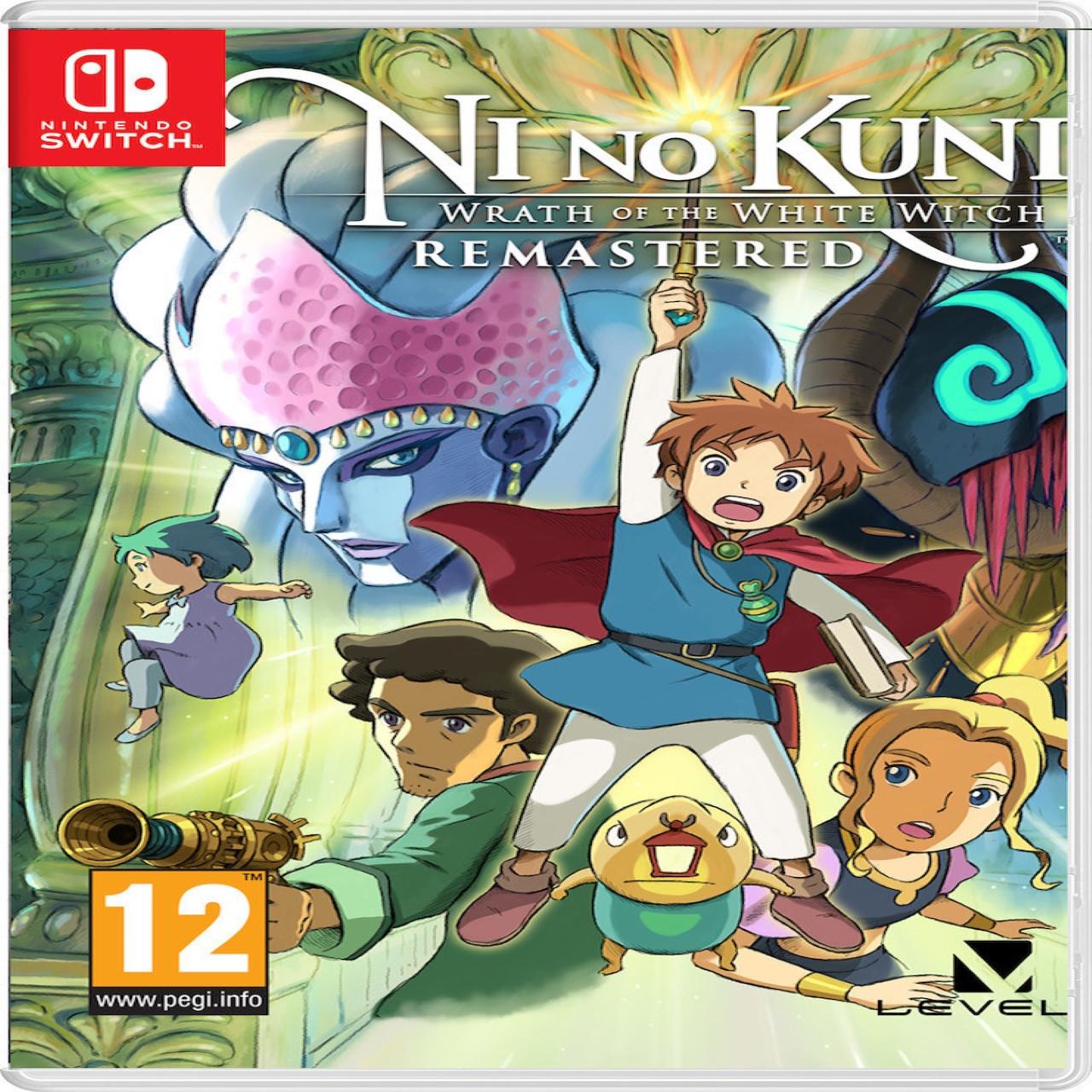 Ni no Kuni: Wrath of the White Witch Remastered (англійська версія) Nintendo Switch