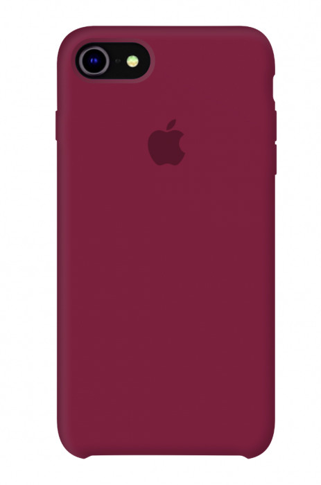 Задняя накладка Hi-Copy Silicone Case APPLE IPHONE 7 | 8 (№36 ROSE RED)