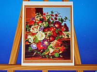Картина на холсте по номерам Колокольчики