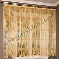 Тюль на вікно в кухню, фото 1