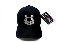 Кепка Under Armour черная бейсболка высокого качества