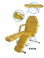 Кресло педикюрно-косметологическое 3х-секционное S-813A