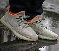 Мужские кроссовки Adidas Yeezy 350 v2 «Desert Sage», фото 1