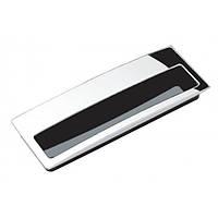 Ручка мебельная // Ozkardesler / L =96 мм / врезная / хром / (DG 5115)