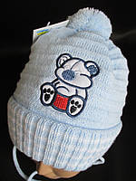 Теплые шапки для самых маленьких деток