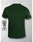 PEKLO.TOYS футболка Пекельний Зайчик з Машингвером Olive, фото 2