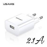 Зарядное устройство 2.1A Usams T18 Travel charger