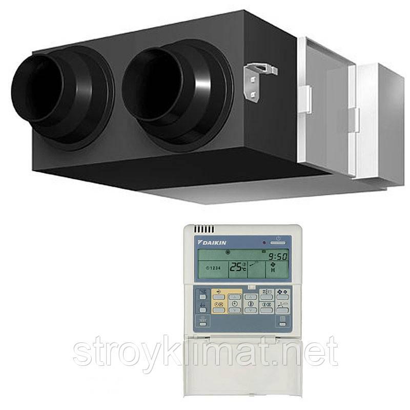 Приточно-вытяжная вентиляционная установкас рекуперацией тепла DAIKIN VKM100GBV1