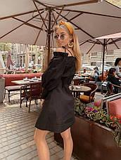 Короткое платье на пуговицах, фото 2