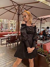 Короткое платье на пуговицах, фото 3