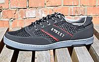 Кросівки кеди чоловічі літнічорні 44 розміри
