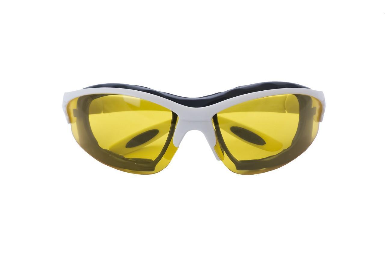 Очки защитные Housetools - обрезиненые желтые