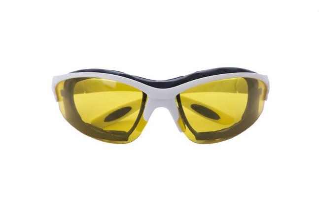 Очки защитные Housetools - обрезиненые желтые, фото 2