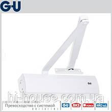 Доводчик GU OTS 430 (коленная тяга) белый