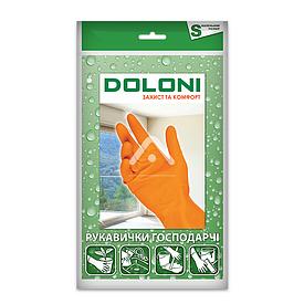 Рукавички господарські, латексні, розмір S Doloni