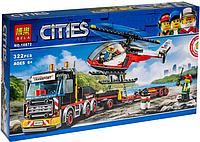Конструктор Bela City Сити Перевозчик вертолета 322 детали