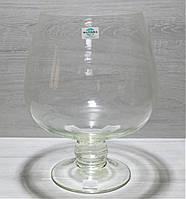 Ваза Коньяк скляна V=12L D=285мм H=375мм акваріум