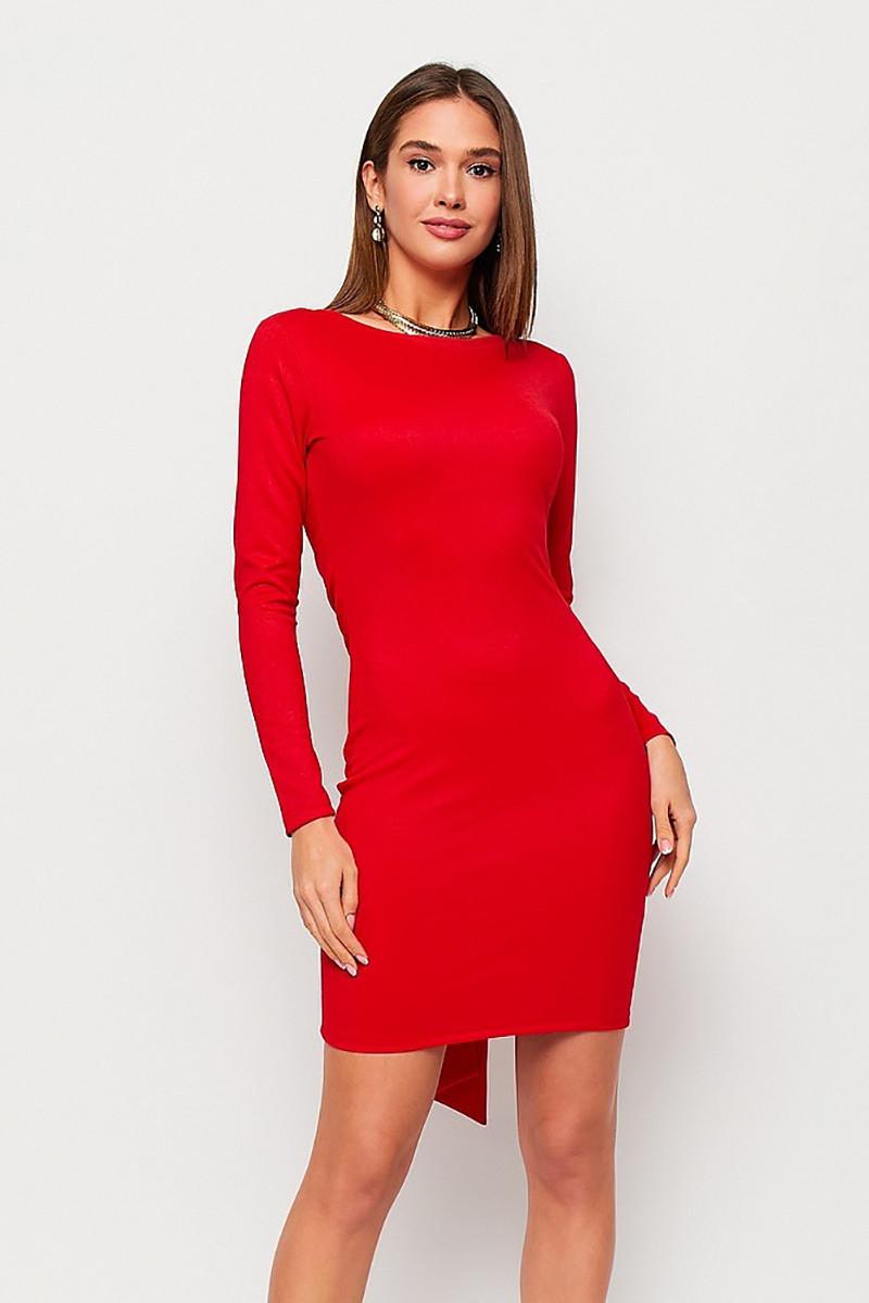 S, M | Коктейльне плаття з відкритою спиною Nyar, червоний
