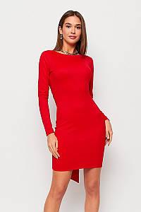 S, M   Коктейльне плаття з відкритою спиною Nyar, червоний