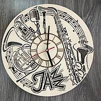 Оригинальные концептуальные настенные часы «Джаз»