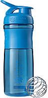 Шейкер Blender Bottle SportMixer CYAN (828 мл.) - Сине-зеленый