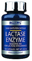 Lactase Enzyme Scitec Essentials (100 капс.)
