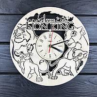 Очаровательные бесшумные детские настенные часы «Король Лев»