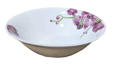 Тарелка UST Орхидея глубокая 450 мл AL-003